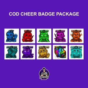 COD Cheer Badge Package