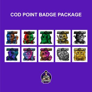 COD Point Badge Package