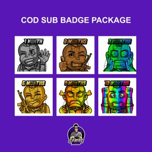 COD Sub Badge Package