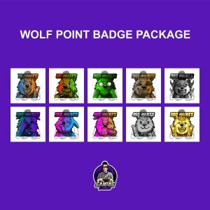 Wolf Point Badge Package