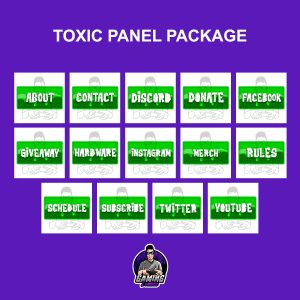 Toxic Panel Package