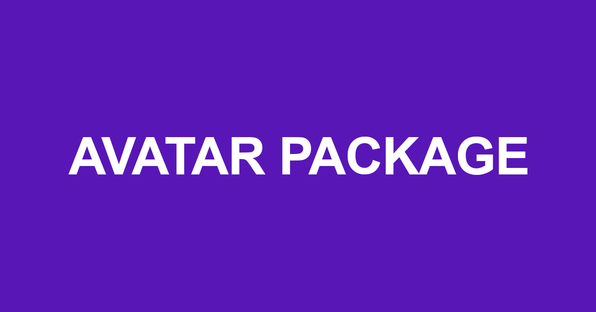 Avatar Gaming Package
