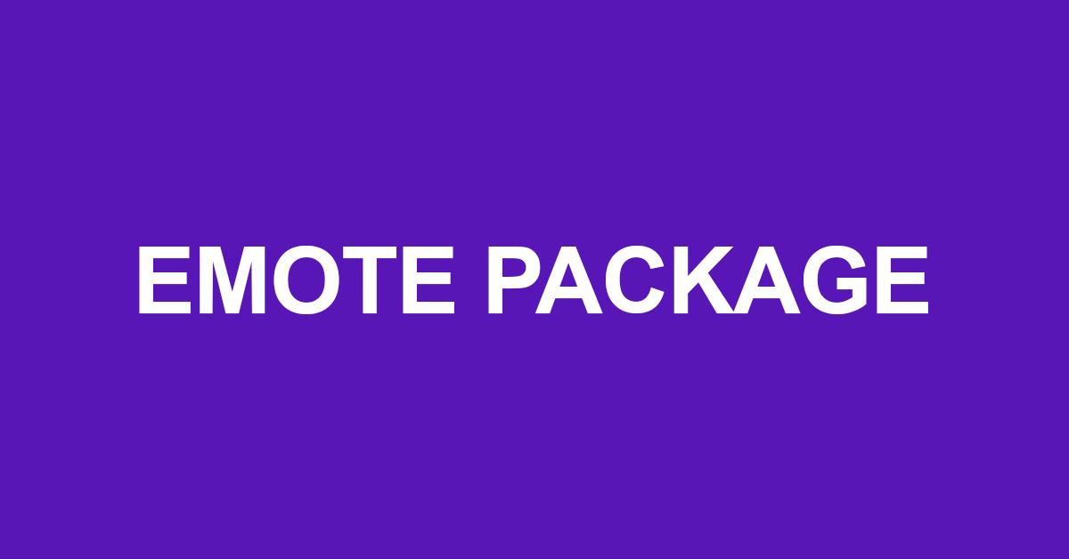 Emote Gaming Package