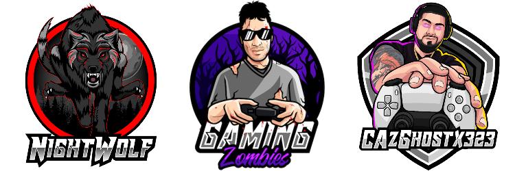 Gaming Zombies Logos